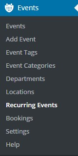 Screenshot - reoccurring event from dash
